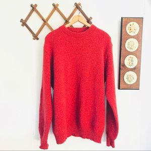 Vintage L.L. Bean Wool Sweater Made In USA